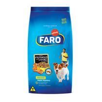 Ração Faro Cães Raças Pequenas Sabor Frango e Legumes - 10,1kg -