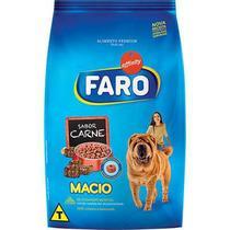 Ração Faro Macio Cães Adultos e Filhotes Carne - 900 Gr -