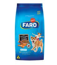 Ração Faro para Cães Filhotes Sabor Carne e Frango - 1kg -