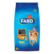 Ração Faro Raças Médias Sabor Frango e Legumes - 25Kg -
