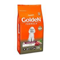Ração Golden Adulto Mini Bits Carne e Arroz - 15 Kg - Premier