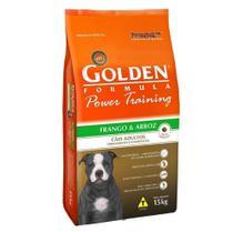Ração Golden Cães Adulto - Power Training - Frango - 15kg -