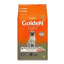 Ração Golden Cães Light Raças Pequenas Frango e Arroz 10,1kg -