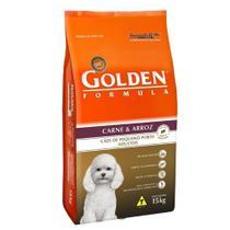 Ração Golden Cães Mini Bits - Carne - 15kg - Premier