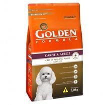 Ração Golden Cães - Mini Bits - Carne - 3kg -