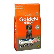 Ração Golden Cães Sênior Raças Pequenas Frango Arroz 10,1kg -
