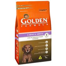 Ração Golden Filhote Carne e Arroz Mini Bits 10,1kg -
