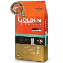 Ração Golden Filhotes Pequeno Porte Carne e Arroz  15 kg -