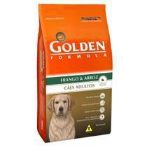 Ração golden formula cães adulto frango/arroz raças médias e grandes 15kg - Premier