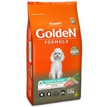 Ração golden formula cães adulto frango/arroz raças pequenas 15kg - Premier