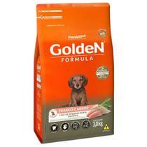 Ração Golden Formula Cães Pequeno Porte Filhotes Frango e Arroz 3kg - Premierpet