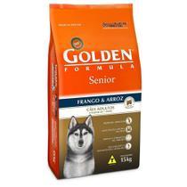 Ração Golden Fórmula Para Cães Sênior Sabor Frango e Arroz 15kg - Premier