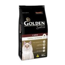 Ração golden gato adulto castrado carne 10kg - Premier