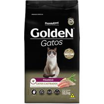 Ração golden gato adulto castrado frango 10kg - Premier