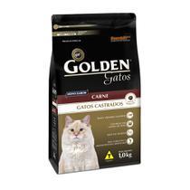 Ração Golden Gatos Adultos Castrados Carne 1kg -