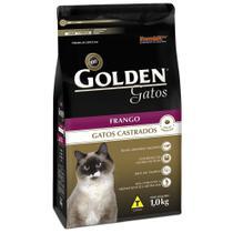 Ração Golden Gatos Adultos Castrados Sabor Frango 10 k -