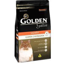 Ração Golden Gatos Castrados 3,0 Kg - Salmão - Premierpet
