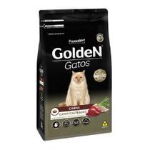 Ração Golden Gatos Castrados Carne 10,1kg -