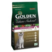 Ração Golden Gatos Seleção Natural Filhotes Frango 3kg -
