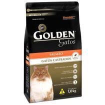 Ração Golden Para Gatos Adultos Castrados Sabor Salmão -