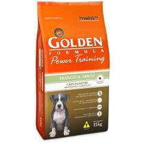 Ração Golden Power Training Cães Filhotes Sabor Frango e Arroz 15kg -