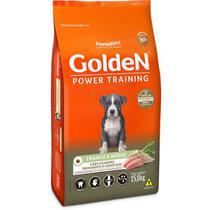 Ração Golden Power Training Premium Especial Filhote Raças Médias Frango e Arroz 15kg -