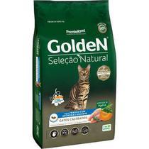 Ração Golden Seleção Natural Gatos Castrados Abobora -