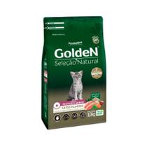 Ração Golden Seleção Natural para Gatos Filhotes Sabor Frango e Arroz -