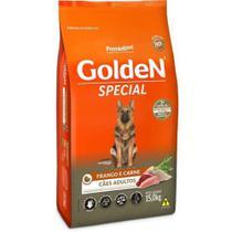 Ração Golden Special Frango e Carne - 15 Kg - Premier