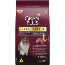Ração Gran Plus Adulto Gourmet Médio e Grande Ovelha - 15 Kg -