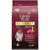 Ração Gran Plus Adulto Gourmet Médio e Grande Ovelha -  3 Kg -