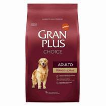 Ração GRAN PLUS Cães Adultos Choice Carne e Frango 15 kg - Gran Plus Affinity -
