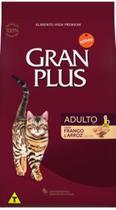 Raçao gran plus gatos adultos salmao 10 kg -