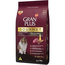Ração Gran Plus Gourmet Cães Adultos Ovelha e Arroz para Raças Médias e Grandes (15 kg) - Affinity Guabi - Gran Plus - Affinity Guabi
