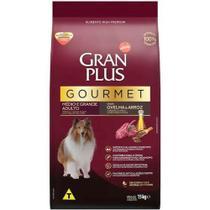 Ração Gran Plus Gourmet para Cães Adultos de Médio e Grande Porte Sabor Ovelha 15 Kg - Guabi -
