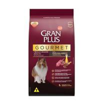 Ração GranPlus Gourmet para Cães Adultos de Médio e Grande Porte Sabor Ovelha - 3kg - Gran Plus
