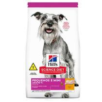 Ração Hill's Cães Adulto 7+ Raças Pequenas e Mini - Hills
