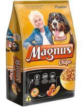 Raçao Magnus Chips Premium Para Cães Adultos - 15 Kg - Agropet Nutrimed