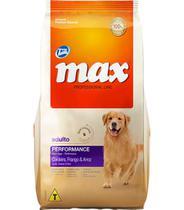 Ração Max para Cães Adultos Sabor Cordeiro e Arroz - 15kg -