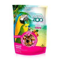 Ração Megazoo Mix para Papagaios Tropical - 700g -