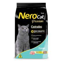 Ração Nero Premium Gatos Castrados Frango -