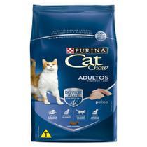 Ração Nestlé Purina Cat Chow Para Gatos Adultos Sabor Peixe 10,1kg -