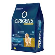 Ração Origens Cães Filhotes Frango E Cereais Raças Médias E Grandes 15kg -