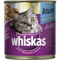 Ração p/ Gato Atum ao Molho Lata 290g - Whiskas -