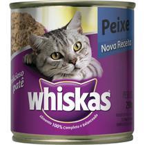 Ração p/ Gato Peixe Lata 290g - Whiskas -