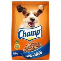 Ração para Cachorro Champ Standard Carne e Cereal Adulto 20k -