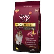Ração para Cães Adultos Médio e Grande Gran Plus Gourmet Ovelha e Arroz -