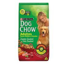 Ração para Cães Dog Chow Adultos Raças Médias e Grandes 3kg -