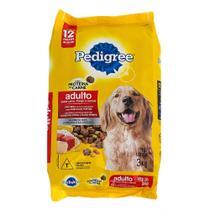 Ração para Cães Pedigree Adultos Carne, Frango e Cereais -
