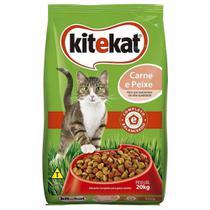 Ração para Gato KiteKat Standard Carne e Peixe 20kg - Whiskas